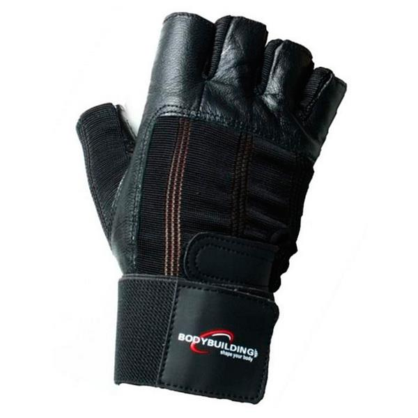 Deluxe Weight Lifting Gloves St12007: Deluxe Wrist Wrap Glove (1 Par