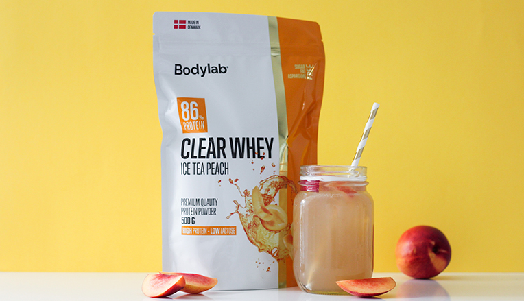 Bodylabs Clear Whey Ice Tea Peach