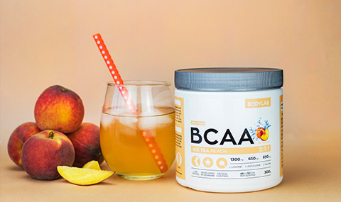 BCAA Instant Ice Tea Peach