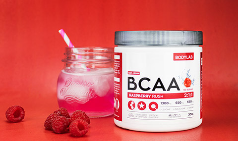 BCAA Instant Raspberry Rush