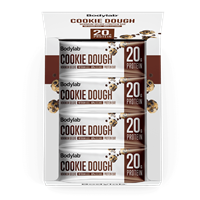 Bodylab Minimum Protein Bar Deluxe (12 x 65 g) - Chocolate Chip Cookie Dough