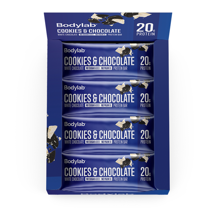 Bodylab Protein Bar (12 x 65 g) - Cookies & White Chocolate
