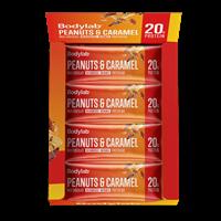 Bodylab Protein Bar (12 x 65 g) - Peanuts & Caramel