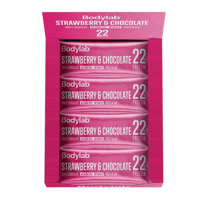 Bodylab Proteinbar Strawberry and White Chocolate
