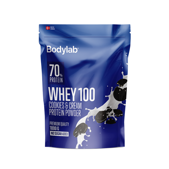 Bodylab Whey 100 (1 kg) - Cookies & Cream