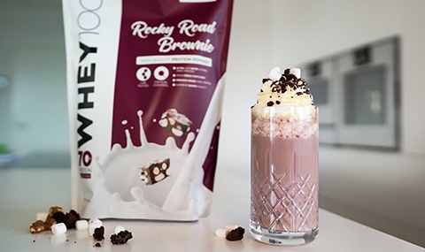 Whey 100 Rocky Road Brownie