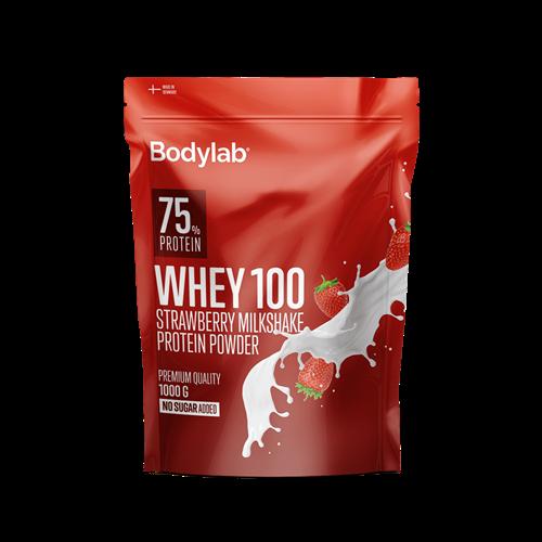 Bodylab Whey 100 (1 kg) - Strawberry Milkshake