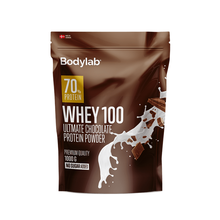 Bodylab Whey 100 (1 kg) - Ultimate Chocolate