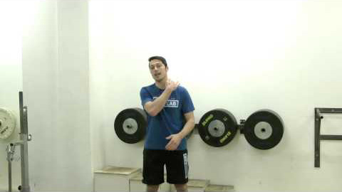 Standing Dumbbell Skulder Press